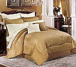10 Piece 300 Thread Count Egyptian Cotton Duvet Cover Set Western King Size