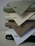 2 Piece Twin/Twin XL Solid 550 Thread Count Egyptian Cotton Duvet Cover Set