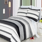 3 Piece Meadow King/California King 300 Thread Count Egyptian Cotton Duvet Cover Set
