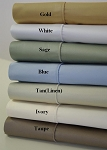 Queen Size 450 Thread Count Egyptian Cotton Sheets Solid