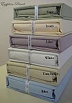 Queen Size Percale 300 Thread Count Egyptian Cotton Sheets Solid