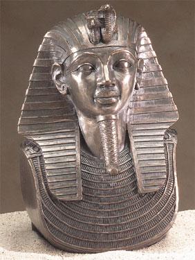 7 Inch King Tut Bronzed