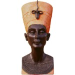 Queen Nefertiti Plaque, Stone Bronze