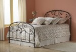 Grafton Bed Set With Frame Rusty Gold
