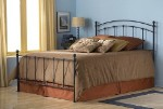 Sanford Bed Set With Frame Matte Black