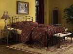 Fenton Bed Set With Frame Black Walnut