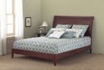 Java Mahogany Platform Bed