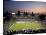 Nashville, Tennessee Sunset Falls on LP Field Panorama Picture
