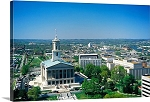 Nashville, Tennessee State Capitol Building Panorama Picture