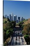 Los Angeles, California Pasadena Freeway Panorama Picture