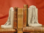 Eiffel Tower Bookend Set