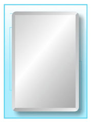 rectangle frameless mirror 30