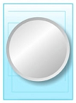 Round Frameless Mirror 18