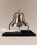 Purser's Bell Solid Brass with Bronze Finish