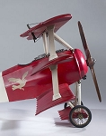Fokker Triplane Red Baron Medium Airplane Model