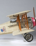 Spad XIII Airplane Model