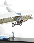 Spad Transparent Airplane Model