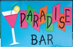 Paradise Bar Metal Sign