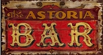 The Astoria Bar Antiqued Wood Sign