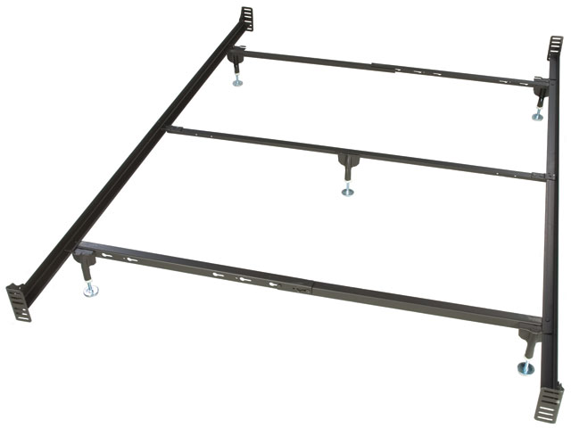 bolt on queen size metal bed frame for headboard and footboard - Iron Bed Frame Queen