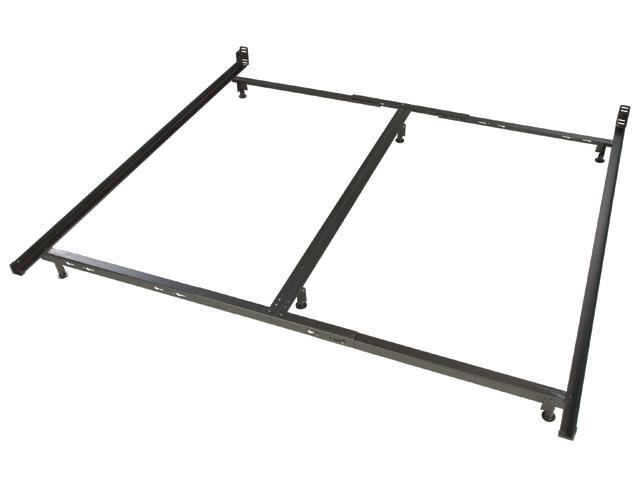low profile king size metal bed frame. Black Bedroom Furniture Sets. Home Design Ideas