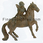 Angel On Horse