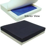 Flat Wheelchair Coccyx Cushion With Cover