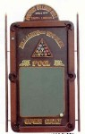 Antique Reproduction Billiard Plaque