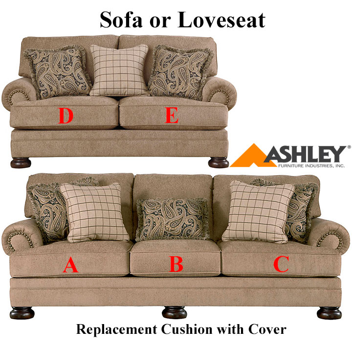Slipcovers Ashley Furniture: Ashley® Keereel Replacement Cushion Cover, 3820038 Sofa Or