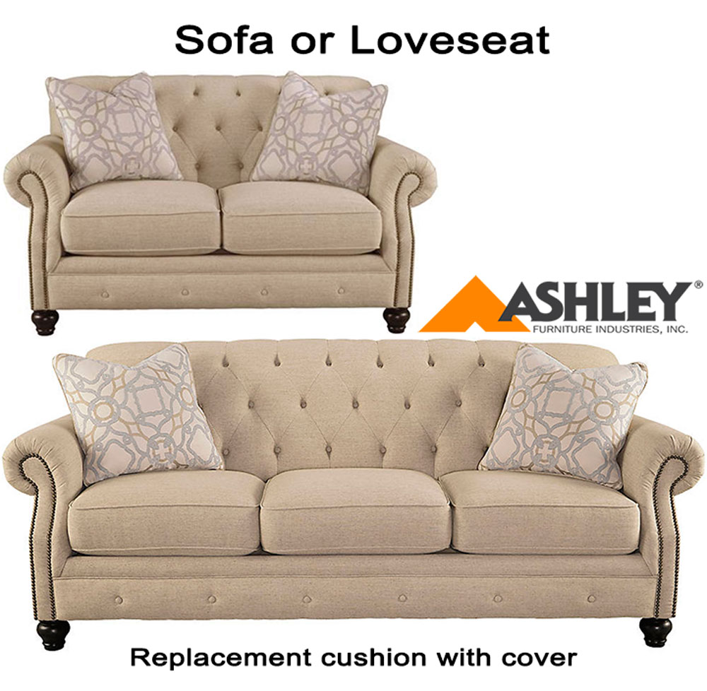 Slipcovers Ashley Furniture: Ashley® Kieran Replacement Cushion Cover, 4400038 Sofa Or