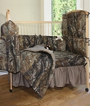 All Purpose AP Camo Crib Baby Bedding