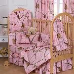 AP Pink Camo Crib Baby Bedding