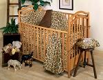 Giraffe Skin Crib Baby Bedding