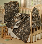 Max 4 Camo Crib Baby Bedding