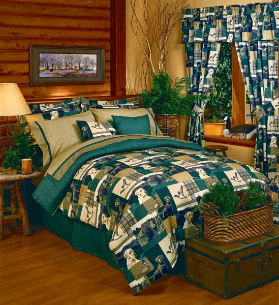 Dogs And Ducks Comforter And Lodge Style Bedding
