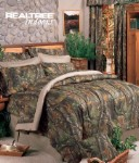 Camouflage California King Size Sheet Set Hardwoods