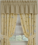 Laura Floral Designer Window Curtains