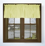 Light Yellow Window Valances