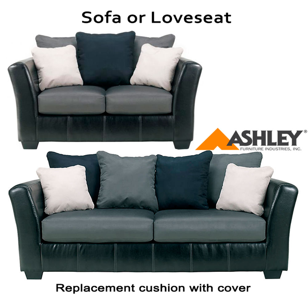 Home U003e Replacement Cushions U003e Replacement Sofa Cushions U003e Ashley® Masoli  Grey Replacement Cushion Cover, 1420038 Sofa Or 1420035 Love