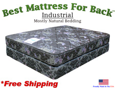 Three Quarter Industrial, Best Mattress For Back