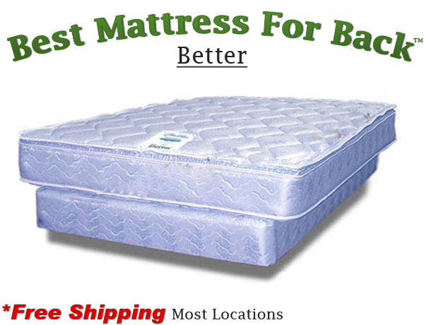 Olympic queen better best mattress for back for Best store to buy a mattress