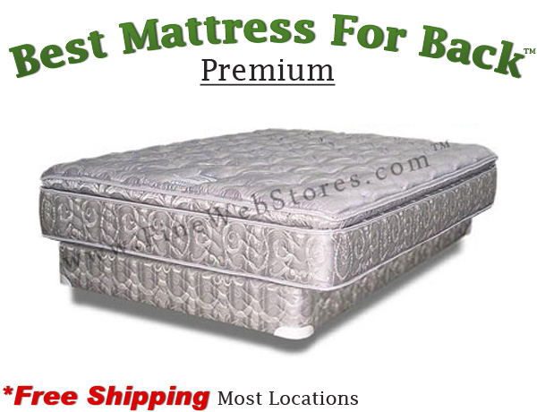 Expanded Queen Premium Best Mattress For Back