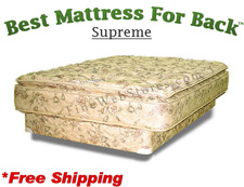 Olympic Queen Supreme, Best Mattress For Back