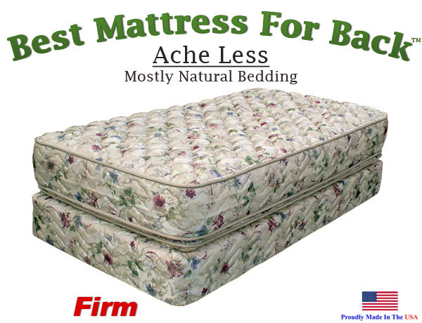 Twin Xl Ache Less Best Mattress For Back
