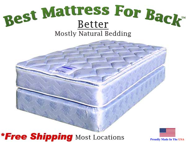 Twin Better Best Mattress For Back