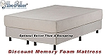 Queen Discount Memory Foam Mattress 10