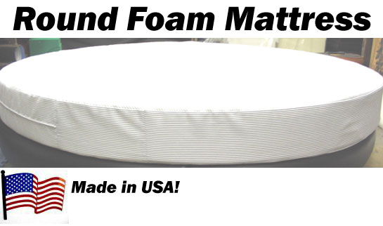96 Quot Round Bed Mattress Luxury Softer 9 Inches Thick