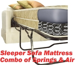Queen Extra Long Size Sofa Bed Mattress Replacement Air And Springs, Air Dream Brand