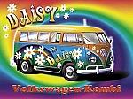 VW-Kombi Daisy Car Vintage Tin Sign