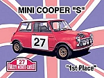 Mini Cooper 'S' Vintage Tin Sign